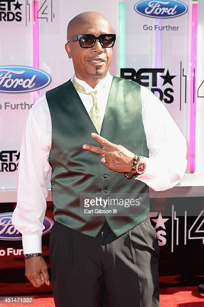 Singer MC Hammer attends the BET AWARDS '14 at Nokia Theatre LA LIVE on June 29 2014 in Los Angeles California