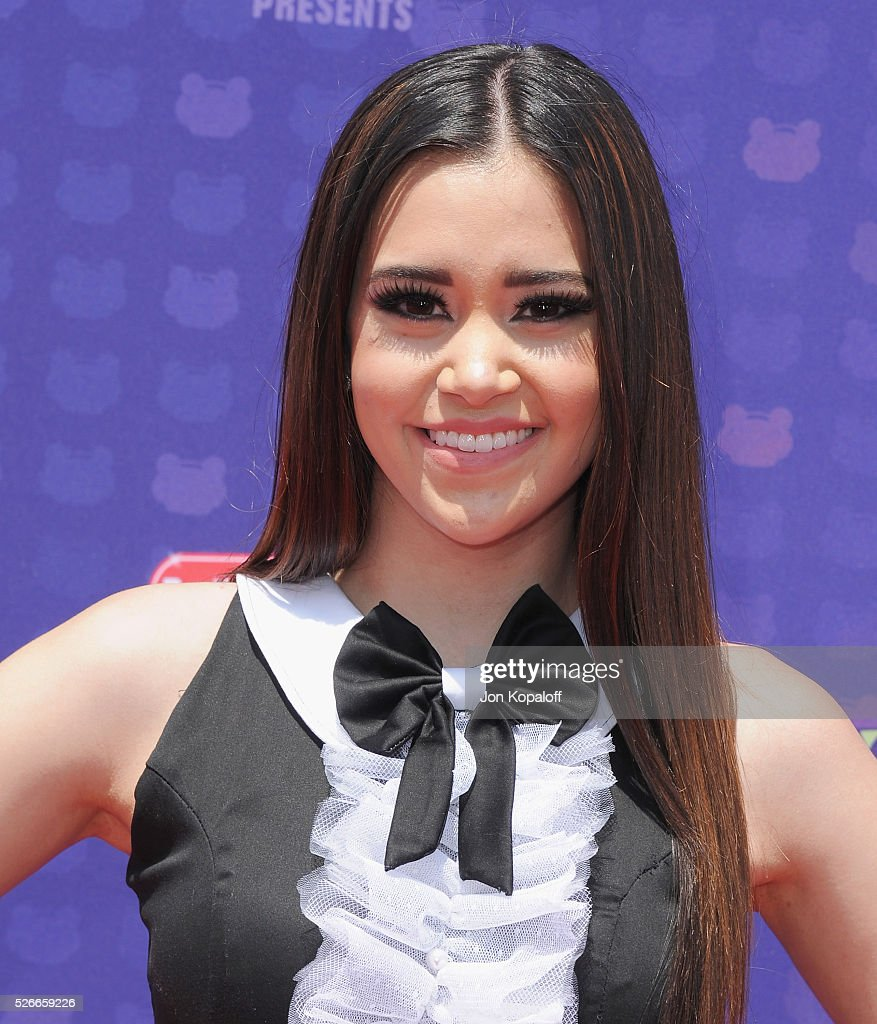 Singer Megan Nicole arrives at the 2016 Radio Disney Music Awards at Microsoft Theater on April 30, 2016 in Los Angeles, California.
