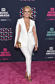 Singer Meghan Linsey attends the 2016 CMT Music awards at the Bridgestone Arena on June 8 2016 in Nashville Tennessee