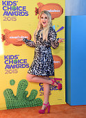 Singer Meghan Trainor attends Nickelodeon's 28th Annual Kids' Choice Awards held at The Forum on March 28 2015 in Inglewood California