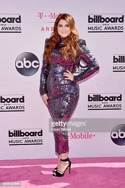 Singer Meghan Trainor attends the 2016 Billboard Music Awards at TMobile Arena on May 22 2016 in Las Vegas Nevada