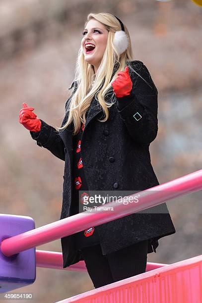 Singer Meghan Trainor attends the 88th Annual Macys Thanksgiving Day Parade on November 27 2014 in New York New York