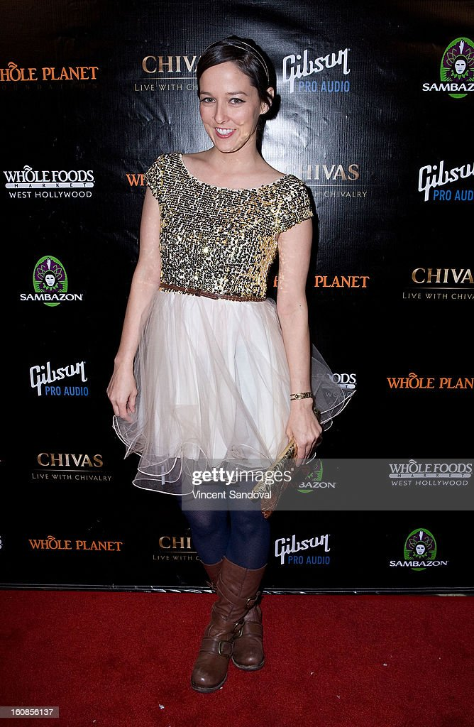 Whole Planet Foundation pre-Grammy benefit concert at East West Recording Studio on February 6, 2013 in Hollywood, California.