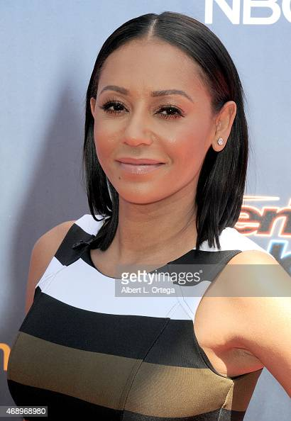 Singer Mel B arrives for 'America's Got Talent' Season 10 Red Carpet Event held at Dolby Theatre on April 8 2015 in Hollywood California