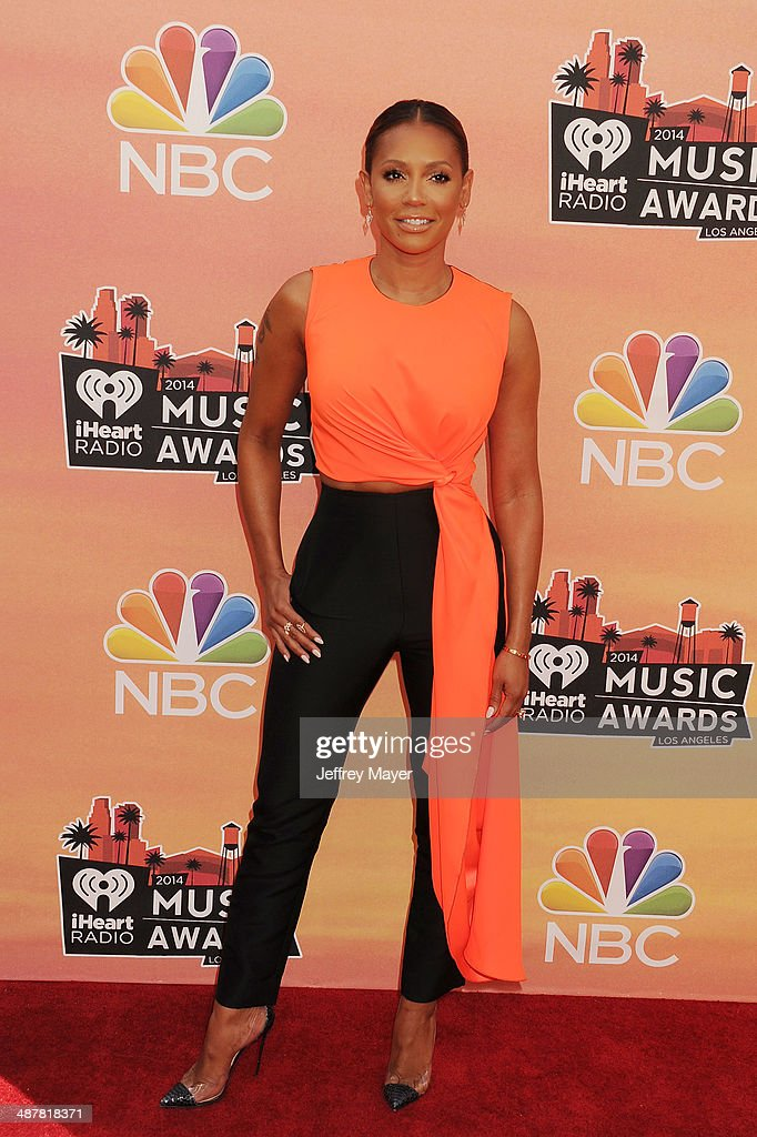 Singer Mel B attends the 2014 iHeartRadio Music Awards held at The Shrine Auditorium on May 1, 2014 in Los Angeles, California.