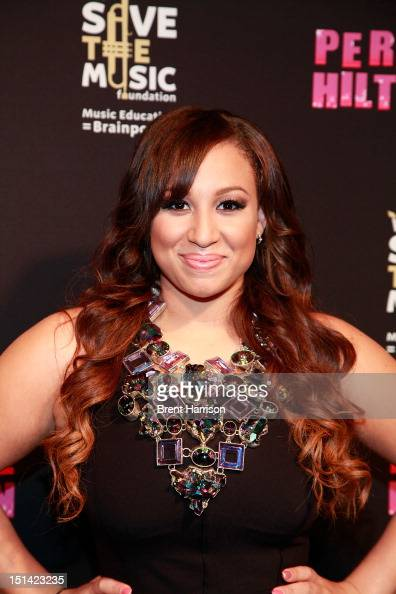 Singer Melanie Amaro attends Perez Hilton's One Night In Los Angeles at The Belasco Theater on September 6 2012 in Los Angeles California