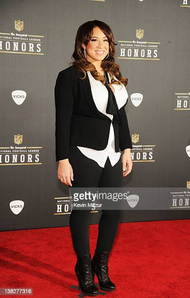 Singer Melanie Amaro attends the 2012 NFL Honors at the Murat Theatre on February 4 2012 in Indianapolis Indiana