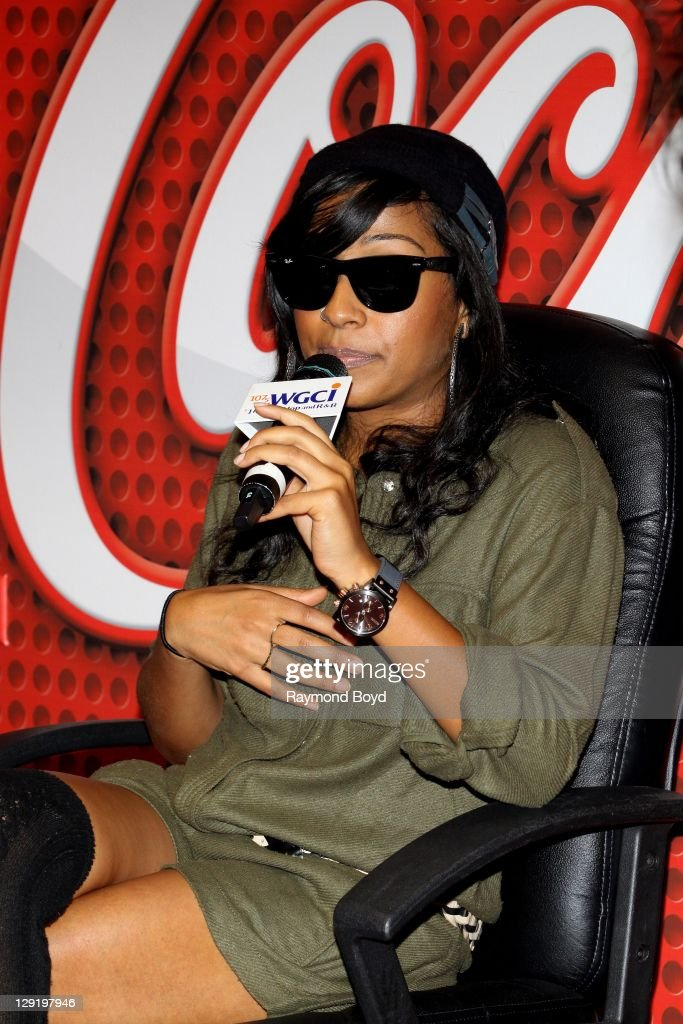 Singer Melanie Fiona answers questions from fans during her visit to the WGCIFM 'CocaCola Lounge' in Chicago Illinois on OCTOBER 10 2011