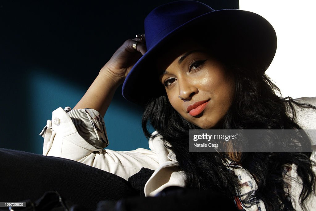 Singer Melanie Fiona attends ASCAP Music Cafe Day 1 at Sundance ASCAP Music Cafe during the 2013 Sundance Film Festival on January 18, 2013 in Park City, Utah.