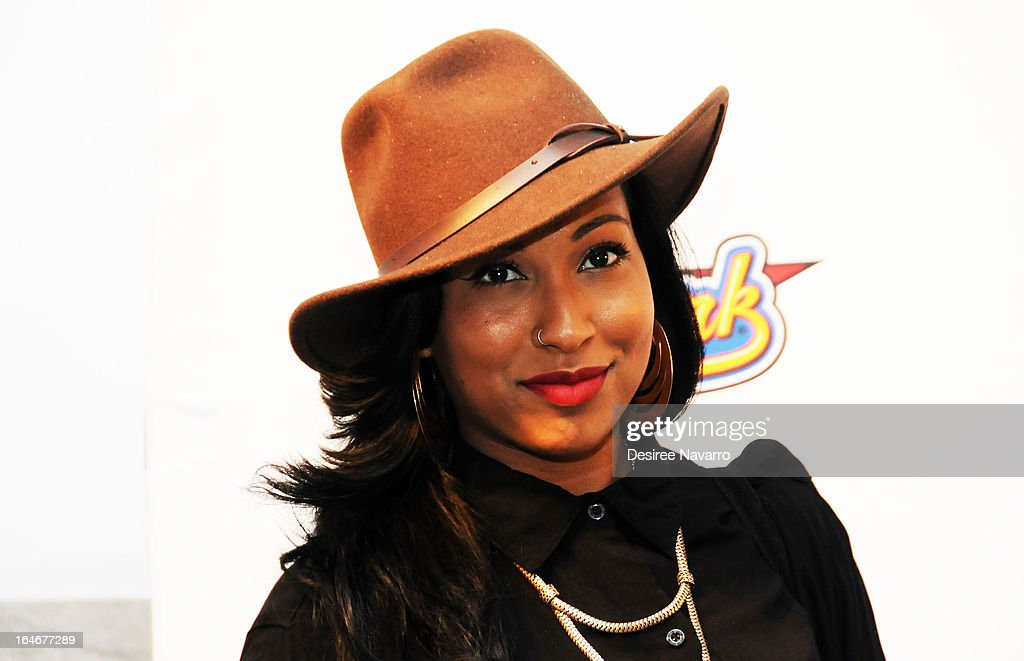 Singer <a gi-track='captionPersonalityLinkClicked' href=/galleries/search?phrase=Melanie+Fiona&family=editorial&specificpeople=5543211 ng-click='$event.stopPropagation()'>Melanie Fiona</a> attends the '42' event honoring Jackie Robinson at the Brooklyn Academy of Music on March 25, 2013 in New York City.