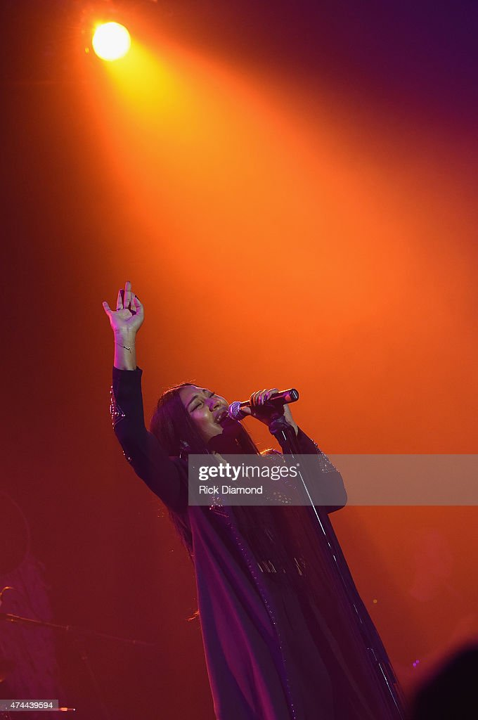 Singer Melanie Fiona performs as Verizon Takes 'The Big Pay Off' to Atlanta Celebrating Consumers with a Special Exclusive Performance by Melanie...