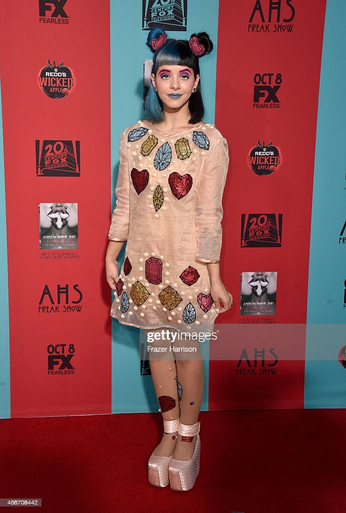 Singer Melanie Martinez attends FX's 'American Horror Story Freak Show' premiere screening at TCL Chinese Theatre on October 5 2014 in Hollywood...