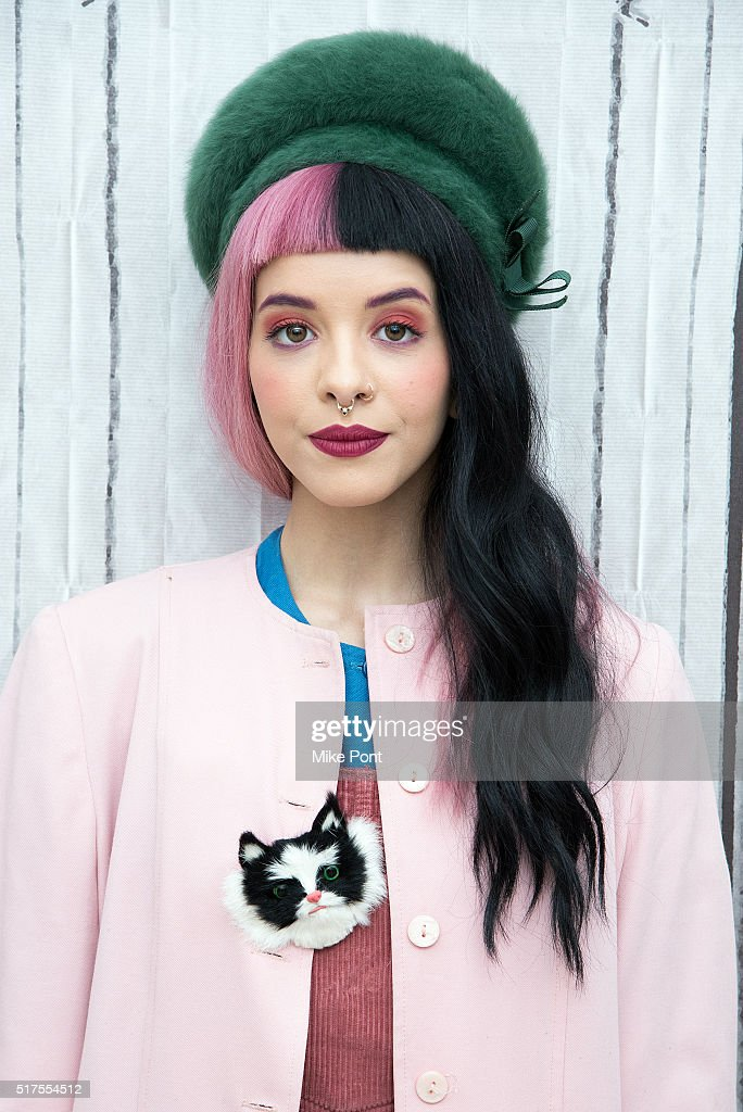 Singer Melanie Martinez attends the AOL Build Speaker Series to discuss 'Cry Baby' at AOL Studios In New York on March 25 2016 in New York City
