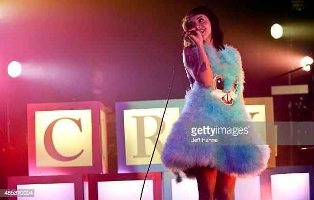Singer Melanie Martinez performs at Amos' Southend on August 26 2015 in Charlotte North Carolina
