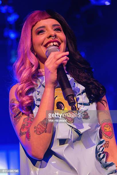 Singer Melanie Martinez performs on stage during the 'Cry Baby' tour at the Showbox on February 20 2016 in Seattle Washington
