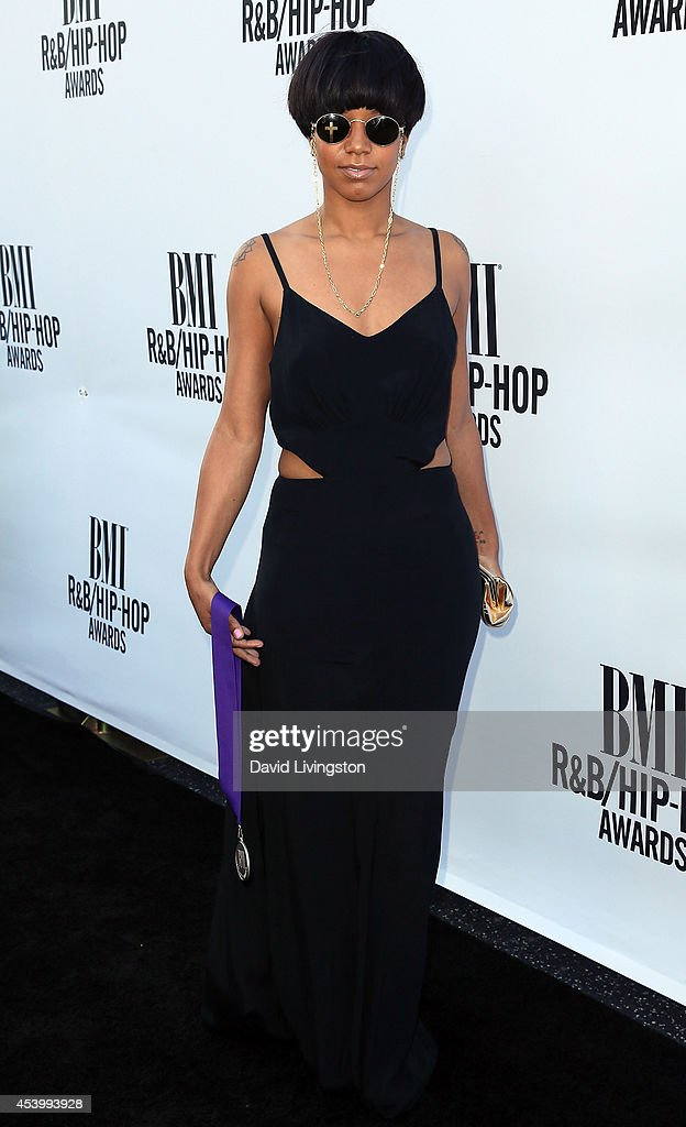 Singer Meleni Smith attends the 2014 BMI R&B/Hip-Hop Awards at the Pantages Theatre on August 22, 2014 in Hollywood, California.