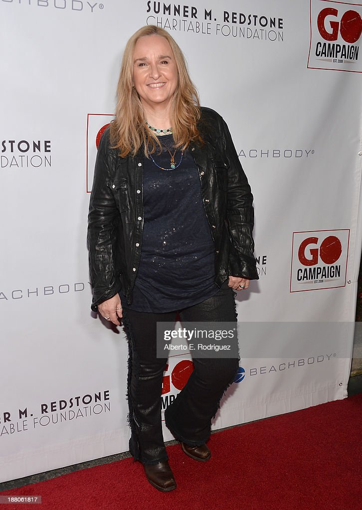 Singer <a gi-track='captionPersonalityLinkClicked' href=/galleries/search?phrase=Melissa+Etheridge&family=editorial&specificpeople=206313 ng-click='$event.stopPropagation()'>Melissa Etheridge</a> atttends the 6th annual GO GO Gala on November 14, 2013 in Pacific Palisades, California.