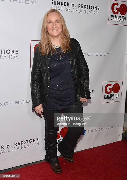 Singer Melissa Etheridge atttends the 6th annual GO GO Gala on November 14 2013 in Pacific Palisades California