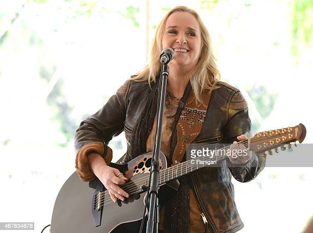 Singer Melissa Etheridge performs at Sutter Home Winery during Day 2 of the 2015 Live in the Vineyard Music Food and Wine Festival on March 27 2015...