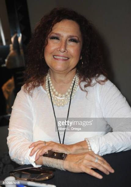 Singer Melissa Manchester signs autographs at The Hollywood Show held at Westin LAX Hotel on July 8 2017 in Los Angeles California