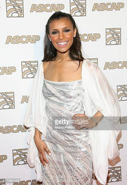 Singer Melody Thornton arrives at the 24th Annual ASCAP Rhythm Soul Awards Honoring Sean 'Diddy' Combs at The Beverly Hilton hotel on June 24 2011 in...