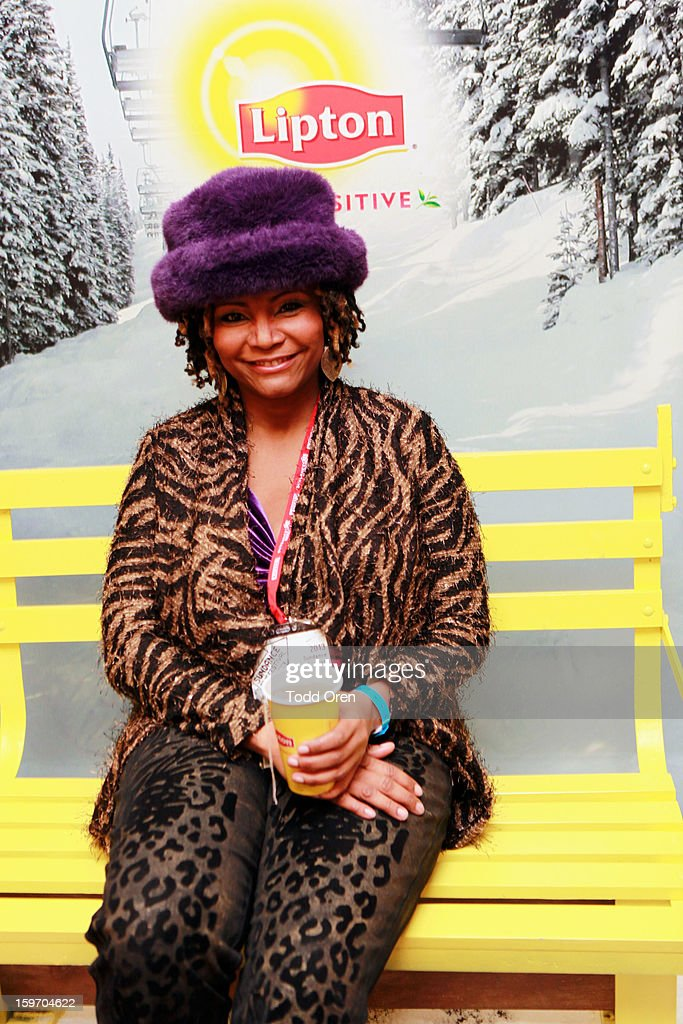 Singer Merry Clayton attends Sears Shop Your Way Digital Recharge Lounge on January 18, 2013 in Park City, Utah.