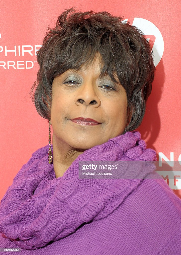 Singer <a gi-track='captionPersonalityLinkClicked' href=/galleries/search?phrase=Merry+Clayton&family=editorial&specificpeople=2536836 ng-click='$event.stopPropagation()'>Merry Clayton</a> attends the 'Twenty Feet From Stardom' premiere during the 2013 Sundance Film Festival at Eccles Center Theatre on January 17, 2013 in Park City, Utah.