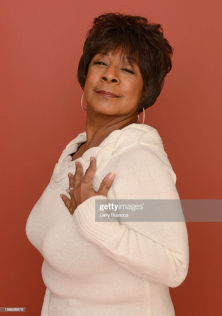 Singer Merry Clayton poses for a portrait during the 2013 Sundance Film Festival at the Getty Images Portrait Studio at Village at the Lift on January 21, 2013 in Park City, Utah.