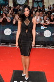 Singer Mia Martina arrives at the 2014 MuchMusic Video Awards at MuchMusic HQ on June 15 2014 in Toronto Canada