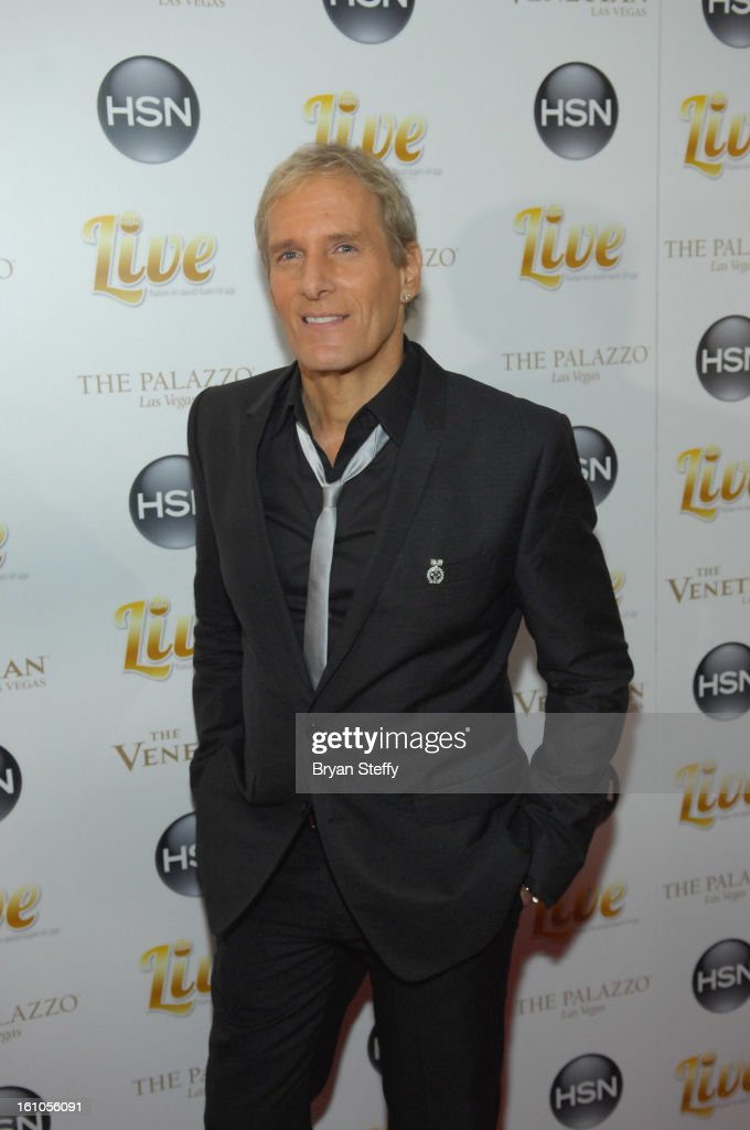 Singer <a gi-track='captionPersonalityLinkClicked' href=/galleries/search?phrase=Michael+Bolton&family=editorial&specificpeople=208230 ng-click='$event.stopPropagation()'>Michael Bolton</a> arrives at the HSN Live <a gi-track='captionPersonalityLinkClicked' href=/galleries/search?phrase=Michael+Bolton&family=editorial&specificpeople=208230 ng-click='$event.stopPropagation()'>Michael Bolton</a> concert at The Venetian Resort Hotel Casino on February 8, 2013 in Las Vegas, Nevada.