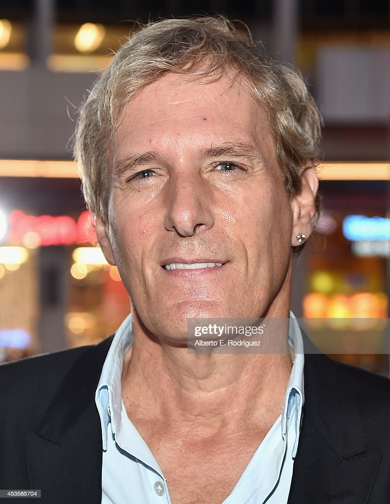 Singer Michael Bolton arrives to the World Premiere of Relativity Media's 'The November Man' at the TCL Chinese Theatre on August 13 2014 in...