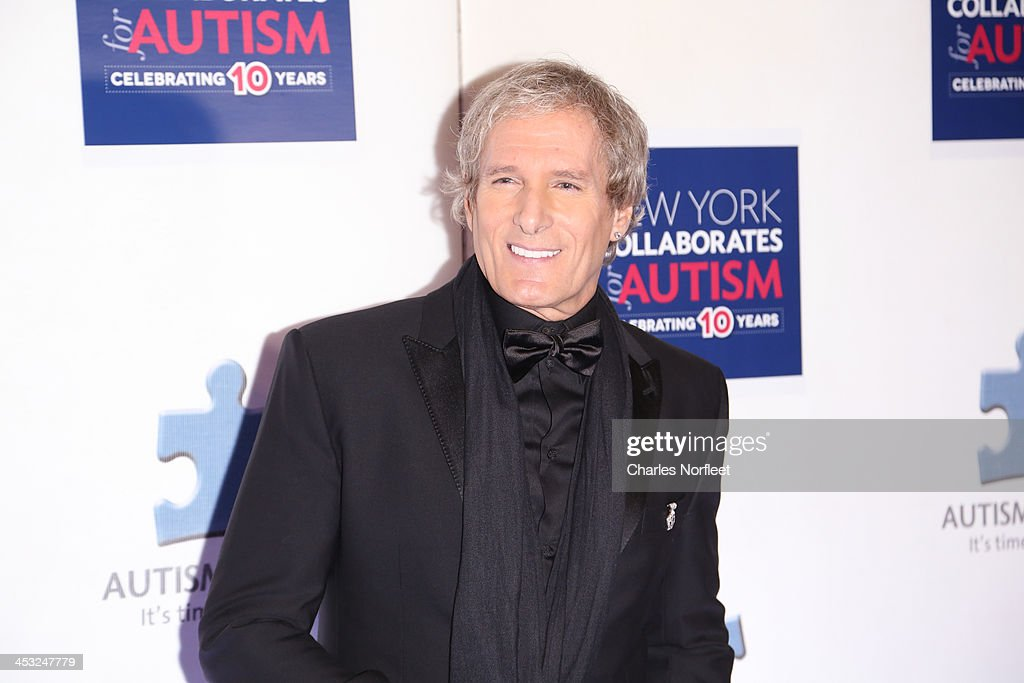 Singer <a gi-track='captionPersonalityLinkClicked' href=/galleries/search?phrase=Michael+Bolton&family=editorial&specificpeople=208230 ng-click='$event.stopPropagation()'>Michael Bolton</a> attends the 2013 Winter Ball For Autism at the Metropolitan Museum of Art on December 2, 2013 in New York City.