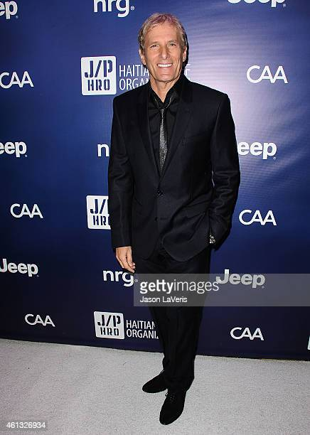 Singer Michael Bolton attends the 'Help Haiti Home' gala at Montage Hotel on January 10 2015 in Los Angeles California