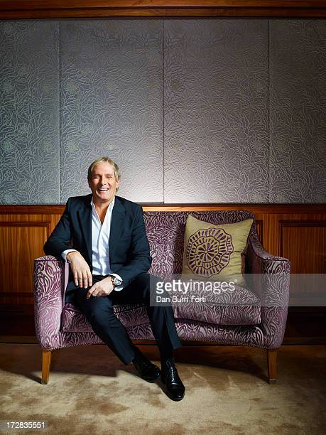 Singer Michael Bolton is photographed for the Independent on March 27 2013 in London England