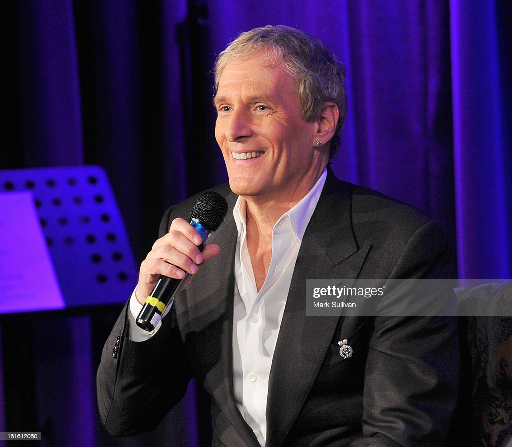 Singer Michael Bolton onstage during An Evening With Michael Bolton at The GRAMMY Museum on February 12, 2013 in Los Angeles, California.