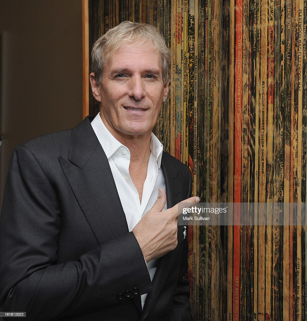 Singer Michael Bolton poses before An Evening With Michael Bolton at The GRAMMY Museum on February 12, 2013 in Los Angeles, California.
