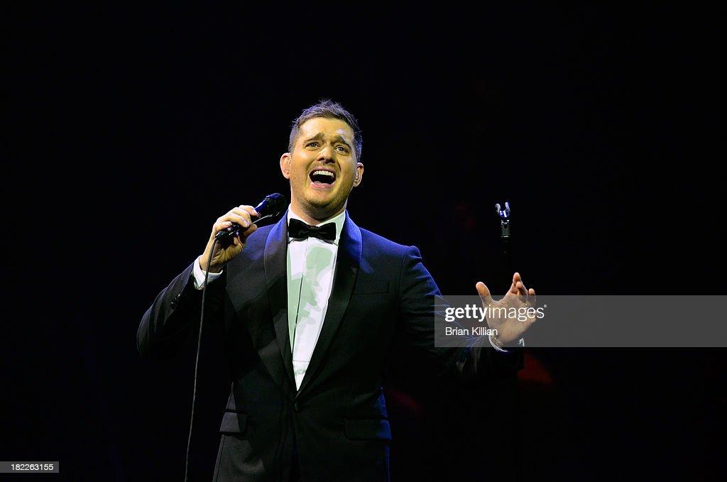 Michael Buble In Concert - Newark, NJ