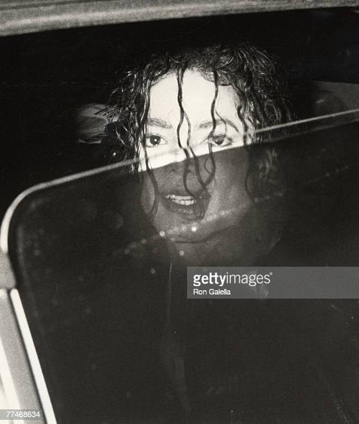 Singer Michael Jackson attends 'Dangerous' Tour Press Conference on February 14 1992 at Radio City Music Hall in New York City