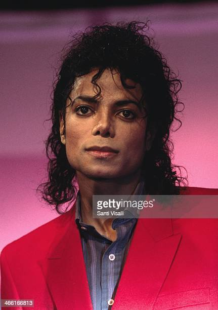 Singer Michael Jackson posing for a portrait on September 9 1988 in New York New York