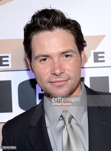 Singer Michael Johns attends Muhammad Ali's Celebrity Fight Night XIX at JW Marriott Desert Ridge Resort Spa on March 23 2013 in Phoenix Arizona
