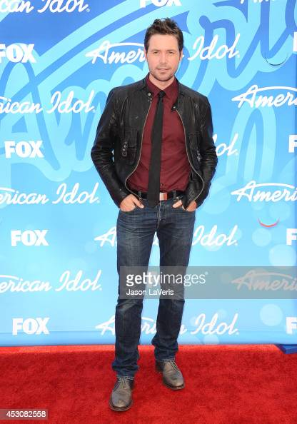 Singer Michael Johns attends the American Idol 2013 finale at Nokia Theatre LA Live on May 16 2013 in Los Angeles California