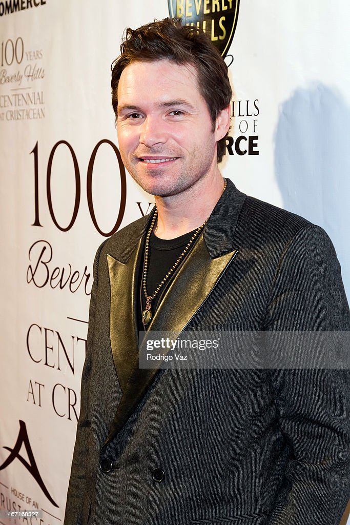 Singer Michael Johns attends the Beverly Hills Chamber of Commerce hosting