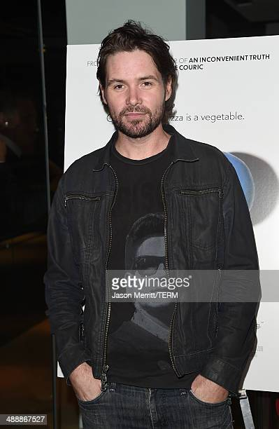 Singer Michael Johns attends the 'Fed Up' premiere held at the Pacfic Design Center on May 8 2014 in West Hollywood California
