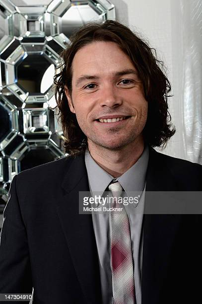 Singer Michael Johns poses during Australians In Film Awards Benefit Dinner at InterContinental Hotel on June 27 2012 in Century City California