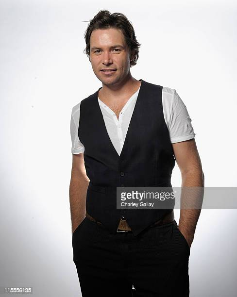 Singer Michael Johns poses for a portrait during Australians in Film's 2011 Breakthrough Awards at the Thompson Hotel on June 7 2011 in Beverly Hills...