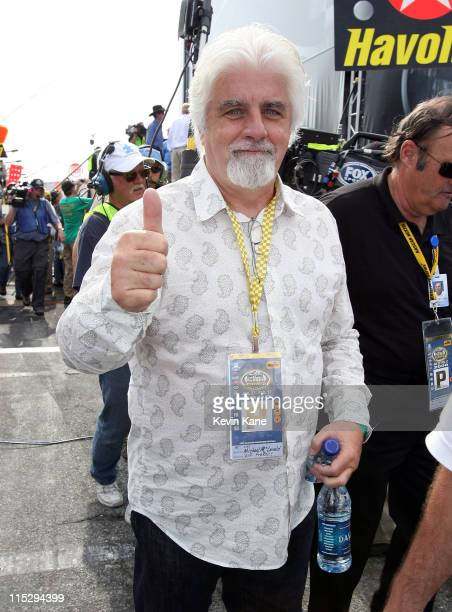 Singer Michael McDonald prior to the running of the 50th Daytona 500 at Daytona International Speedway on February 17 2008 in Daytona Beach Florida