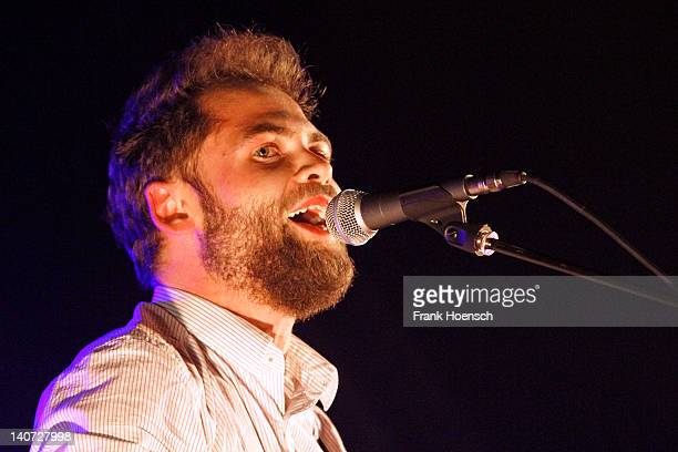Singer Michael Mike Rosenberg aka Passenger performs live in support of Ed Sheeran during a concert at the Heimathafen Neukoelln on March 5 2012 in...