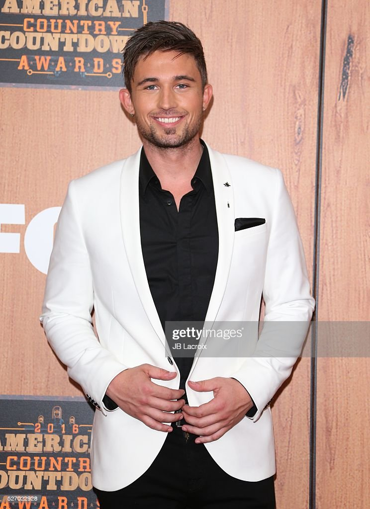 Singer Michael Ray in the press room during the 2016 American Country Countdown Awards at The Forum on May 1, 2016 in Inglewood, California.