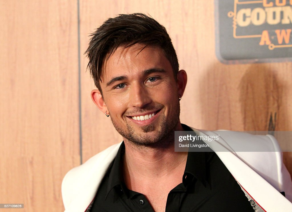Singer Michael Ray poses in the press room at the 2016 American Country Countdown Awards at The Forum on May 01, 2016 in Inglewood, California.