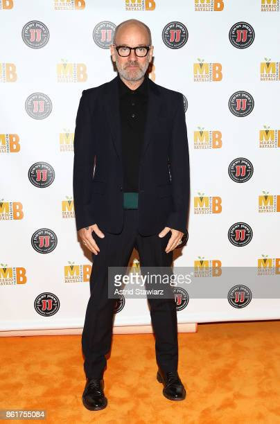 Singer Michael Stipe attends 6th Annual Mario Batali Foundation Honors dinner at Del Posto on October 15 2017 in New York City